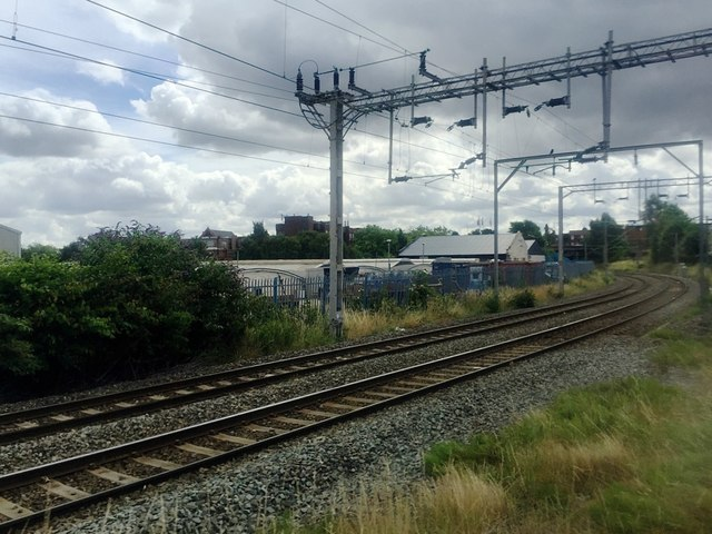 Line towards Stechford from Aston, Birmingham
