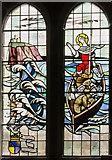 TA1181 : Fisherman's window, St Oswald's church, Filey by Julian P Guffogg