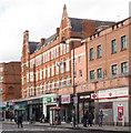 TQ2883 : Former furniture shop, Camden Town by Julian Osley