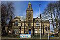 SE1030 : Victoria Hall, Queensbury by Chris Heaton