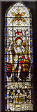TA1181 : Stained glass window, St Oswald's church, Filey by Julian P Guffogg