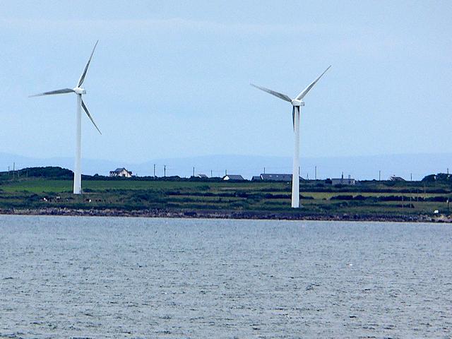 Wind Turbines near Nethertown
