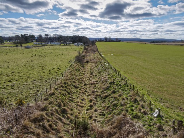 Disused Alves Junction to Burghead Railway Line