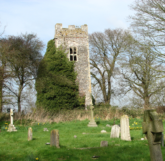 The church of All Saints in Hainford