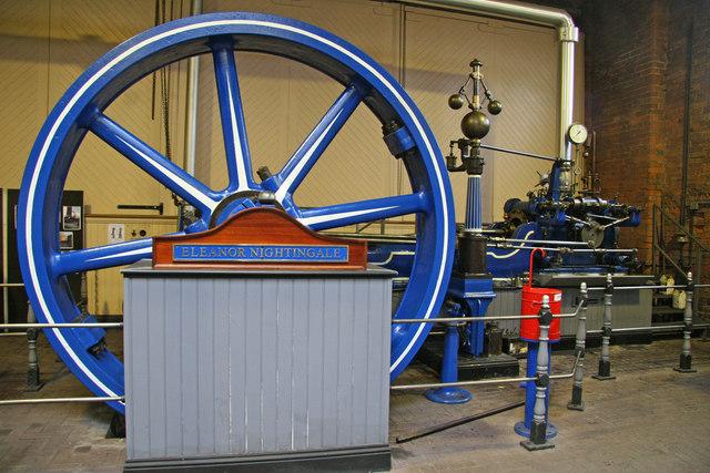 Ellenroad Engine House - stationary steam engine