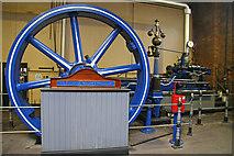 SD9311 : Ellenroad Engine House - stationary steam engine  by Chris Allen