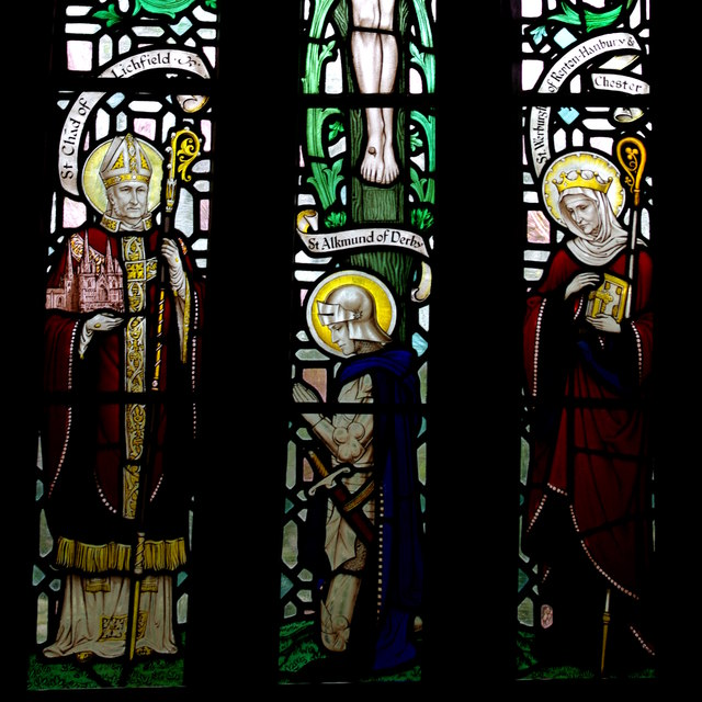 Three Mercian saints