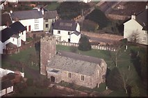ST0310 : Aerial view of Willand church by David Smith