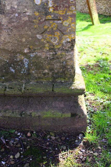 Benchmark on St Britius' Church