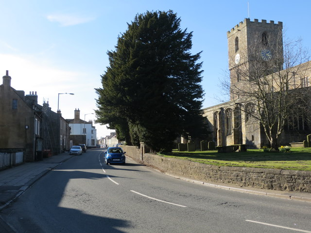 Front Street (A688) in Staindrop