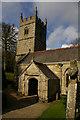 SX0863 : Lanhydrock church and churchyard cross by Christopher Hilton