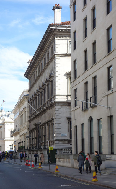 Travellers Club, Pall Mall