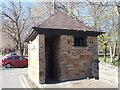SE3406 : Disused Public Convenience - Churchfield by Betty Longbottom