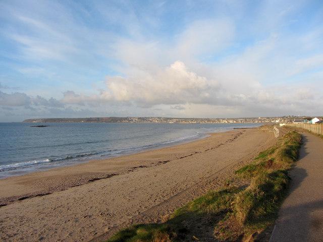 Cornish coast near Marazion