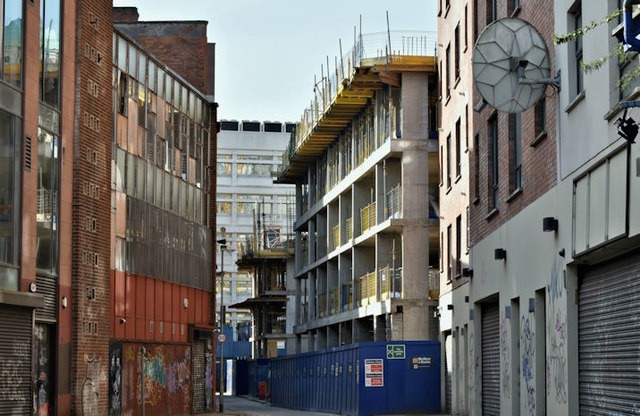 Student accommodation, 78 College Avenue, Belfast - March 2017(2)
