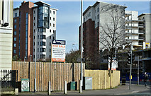J3374 : Development site, 4 College Square North, Belfast (March 2017) by Albert Bridge
