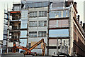 J3374 : Commonwealth House demolition, Belfast - March 2017(1) by Albert Bridge