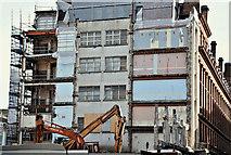 J3374 : Commonwealth House demolition, Belfast - March 2017(1) by Albert Bridge