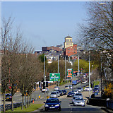 SO9097 : The A449 into Wolverhampton by Roger  Kidd