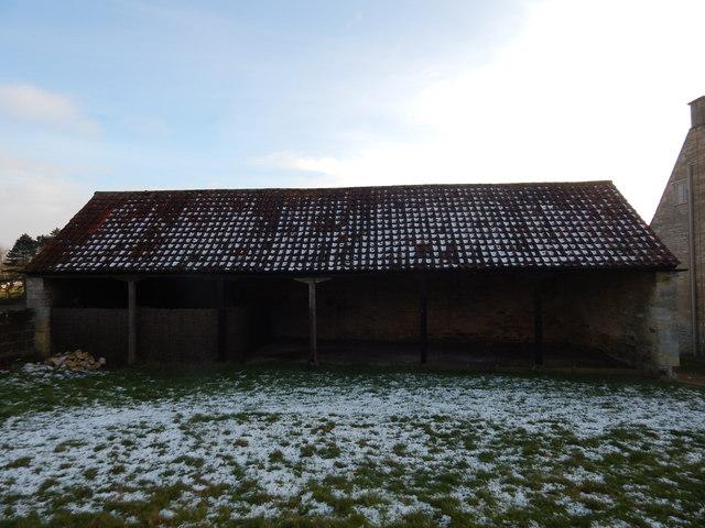 Old building, Woolsthorpe Manor