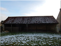 SK9224 : Old building, Woolsthorpe Manor by Hamish Griffin