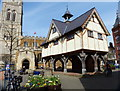 SP7387 : Old Grammar School in Market Harborough by Mat Fascione