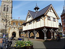 SP7387 : Old Grammar School in Market Harborough by Mat Fascione