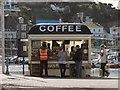 SX9163 : Coffee stall, Torquay harbour by Derek Harper