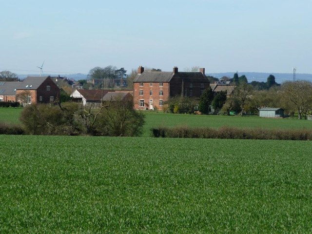 Arkall Farm, west of World's End Cottages