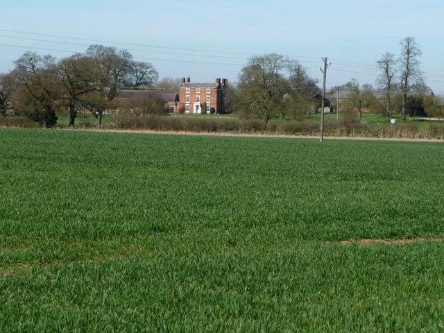 Syerscote Manor, from the south-east