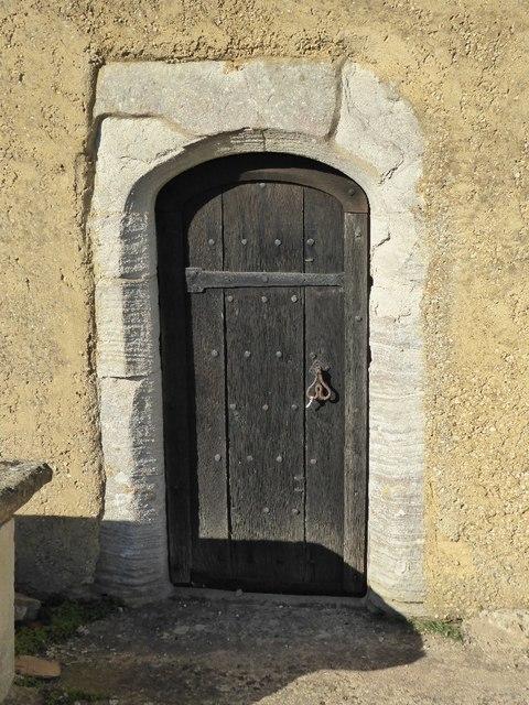 Doorway in Tirley church