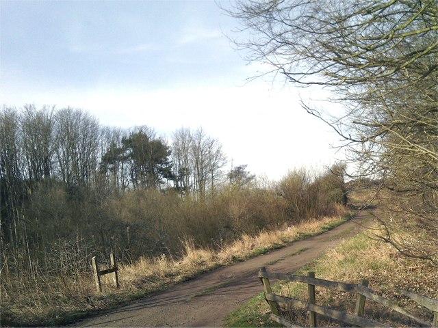 Once a railway line