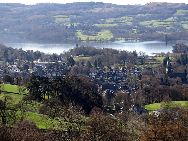 Ambleside from the north