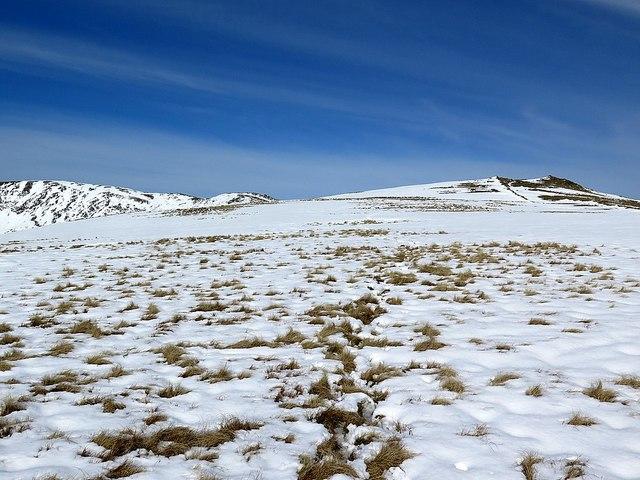 Soft snow near Dove Crag