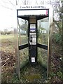 SP9307 : KX300 Telephone Kiosk at Cholesbury by David Hillas