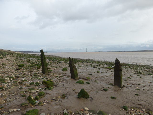 The Humber foreshore at North Ferriby