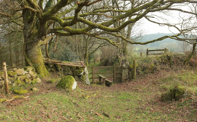 Path off Butterdon Down