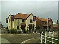 SJ7561 : Bramley Wood estate - show houses by Stephen Craven