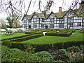 SJ7560 : Knot garden at the Old Hall by Stephen Craven