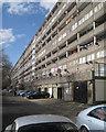 TQ3378 : 10-storey Wendover flats facing Thurlow Street, Aylesbury Estate, Walworth, London by Robin Stott