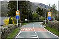 SO1723 : A479 Approaching Cwmdu by David Dixon