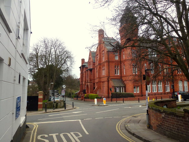 Kingsland Road and red-brick Gothic