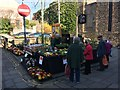 SH7877 : Plant stall at the Conwy Seed Fair by Richard Hoare
