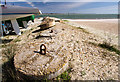 SZ7598 : WWII Hampshire: Hayling Island - Sandy Point anti-tank blocks (23) by Mike Searle