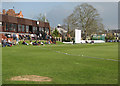 TL4557 : Fenner's: enjoying the sun on the first day of the cricket season by John Sutton