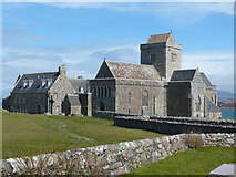NM2824 : Iona Abbey by Malcolm Neal