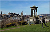 NT2674 : Calton Hill View by Mary and Angus Hogg
