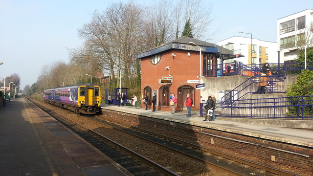 Urmston railway station