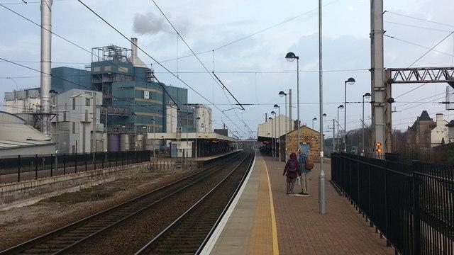Warrington Bank Quay railway station