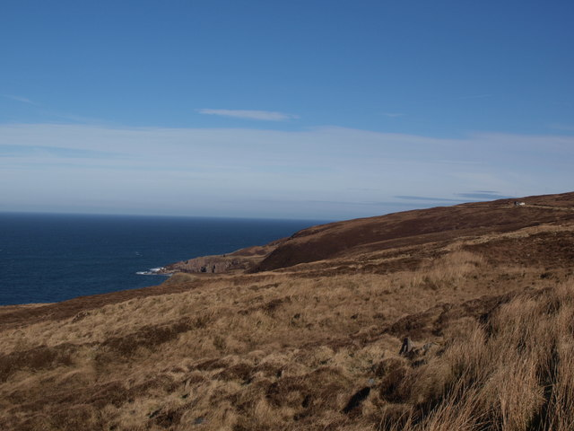 Coast and hillside north of Melvaig